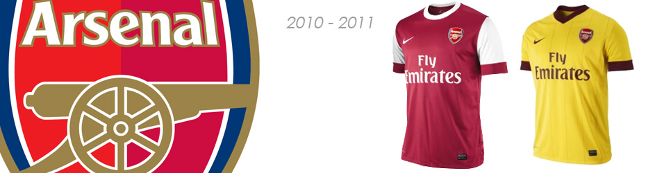maillot arsenal 2012