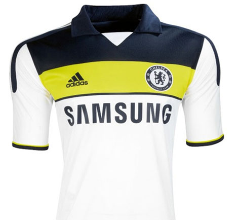 maillot chelsea 2012