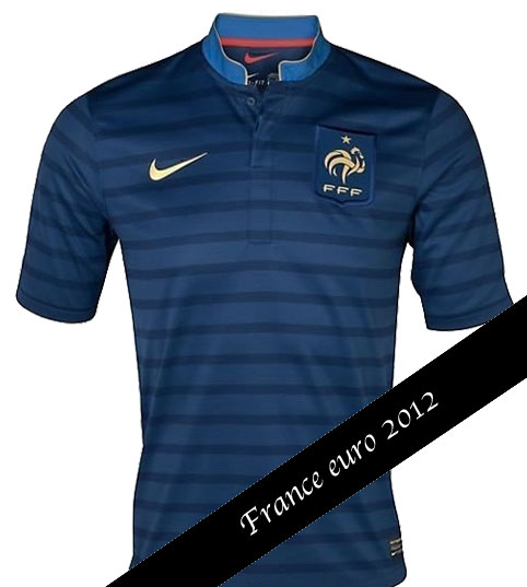 maillot france euro 2012