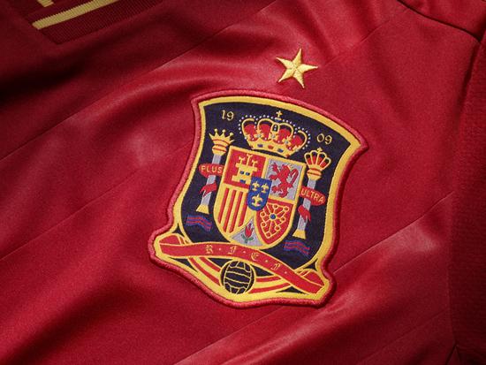 maillot espagne euro 2012