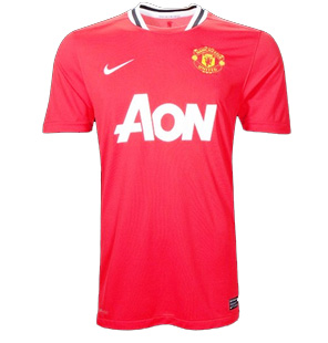 maillot manchester 2012