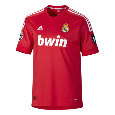 maillot rouge real