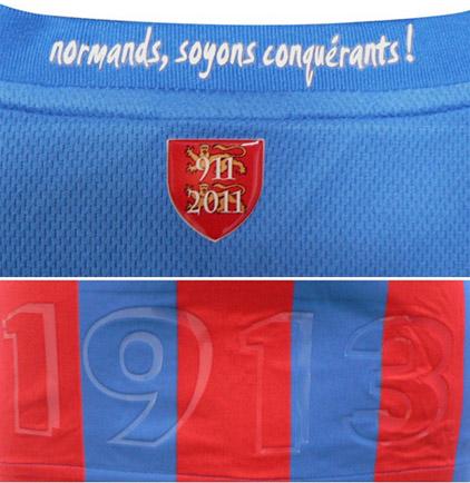 nouveau maillot caen 2012