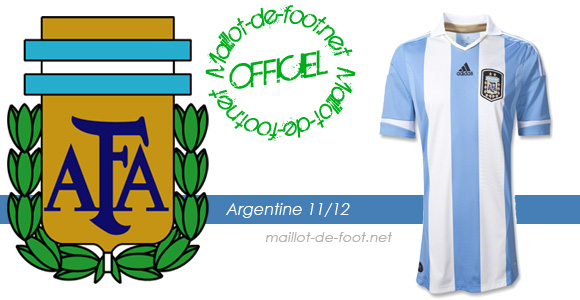maillot argentine 2012