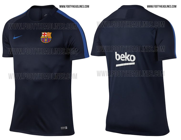 Maillot entrainement FC Barcelone 2016/2017