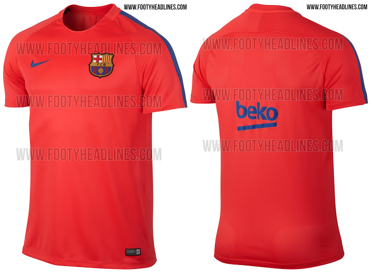 Maillot training FC Barcelone 2016-2017