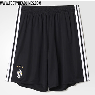Short domicile Juventus 2017