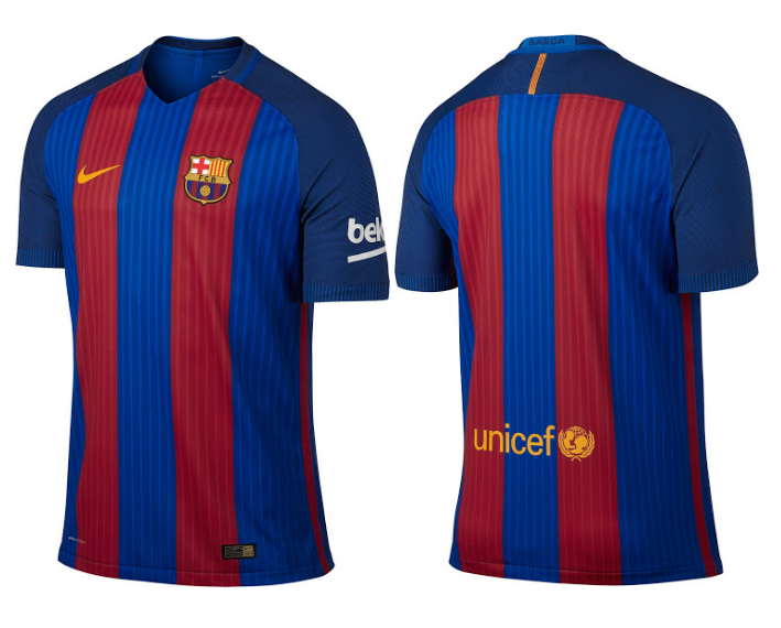 Maillot 2017 maillot de foot for Maillot barca exterieur 2017